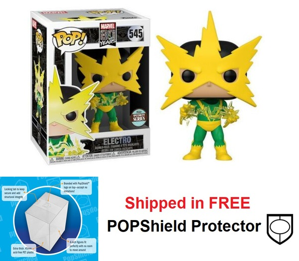 Funko POP Marvel First Appearance Electro - #545