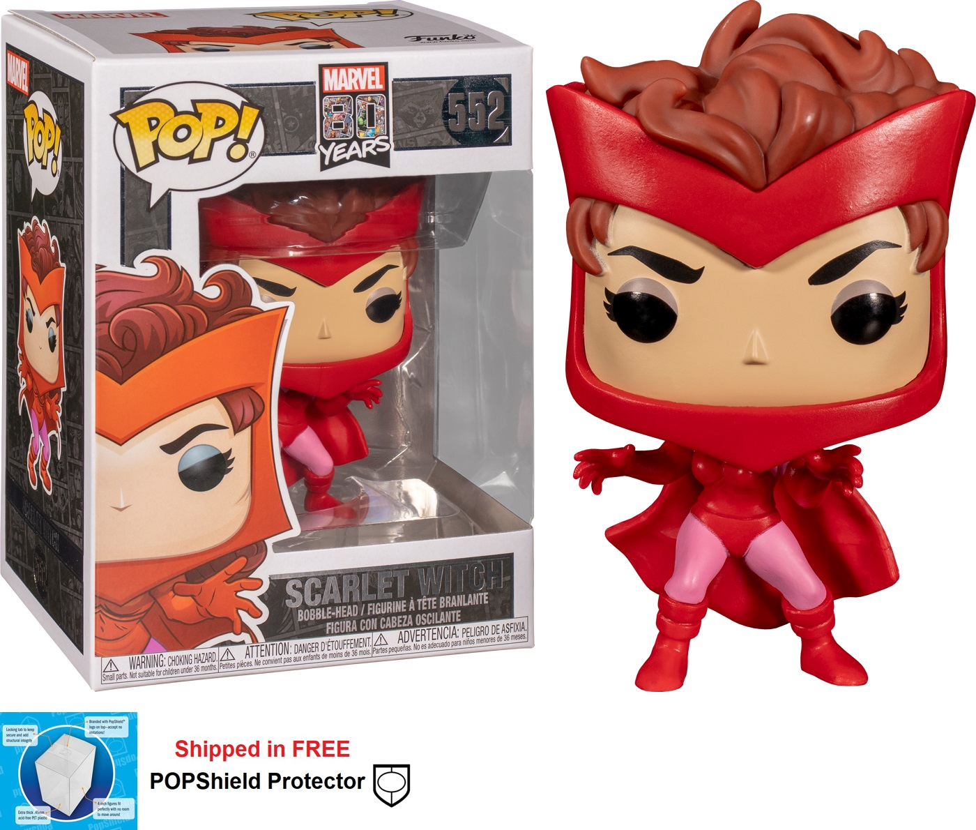 Funko POP Marvel First Appearance Scarlet Witch - #552