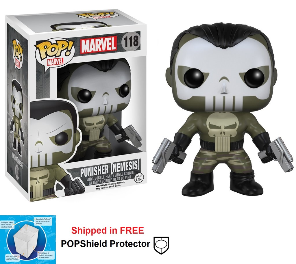 Funko POP Marvel Punisher Nemesis - #118