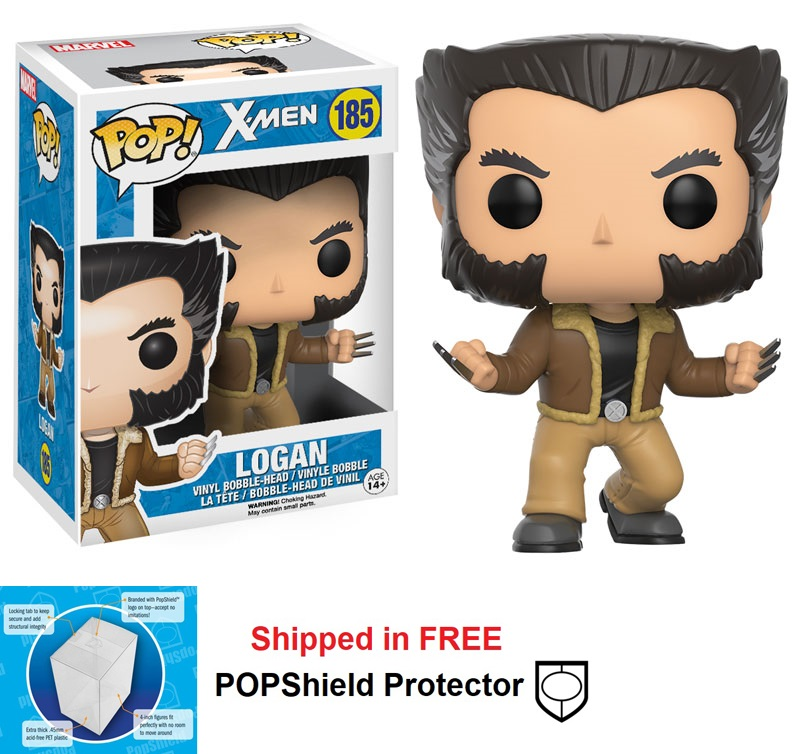 Funko POP Marvel X-Men Logan Figure - #185