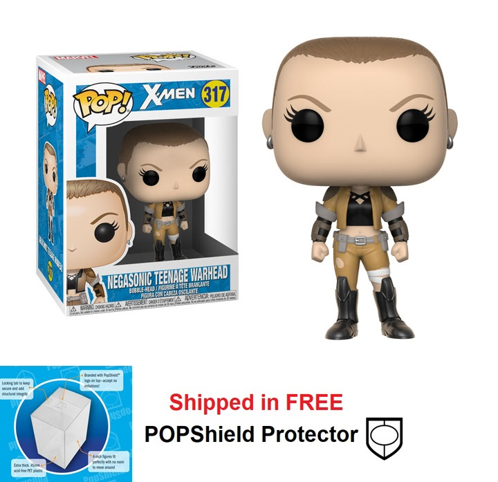 Marvel NEGASONIC TEENAGE WARHEAD Pop Funko Pop Vinyl Figure NEW /& IN STOCK
