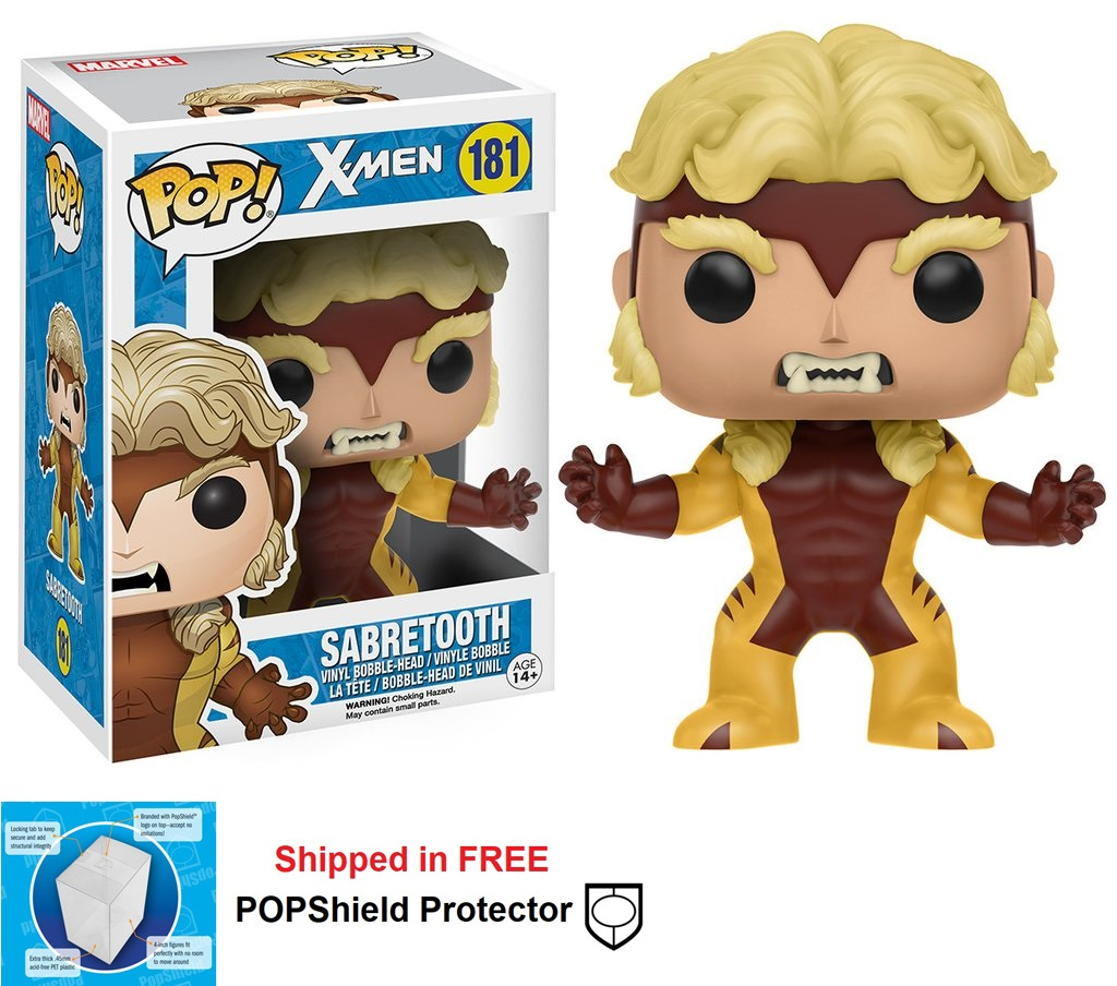 Funko POP Marvel X-Men Sabretooth Figure - #181