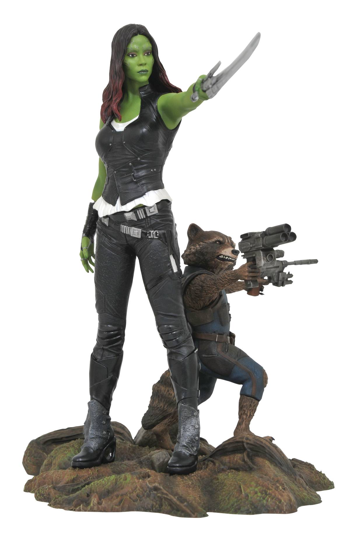 Diamon Marvel Gallery Guardians of the Galaxy 2 Gamora & Rocket