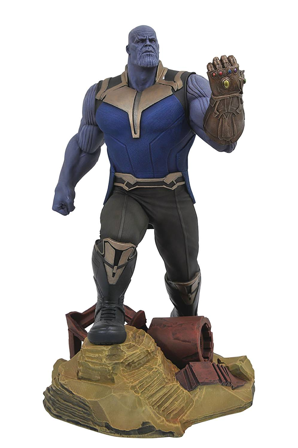 Diamond Marvel Gallery Avengers Infinity War Thanos Statue