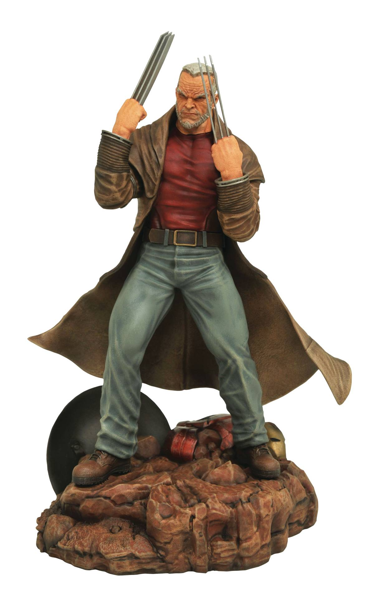 Diamond Marvel Gallery Old Man Logan Wolverine Statue