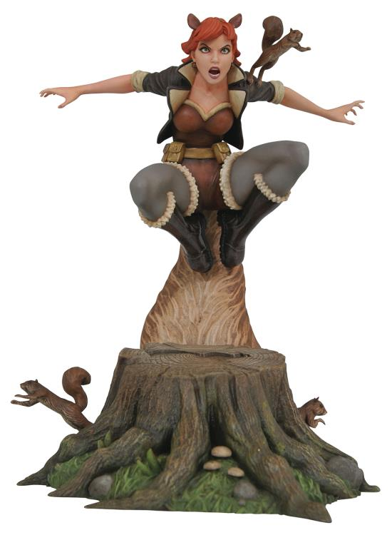 Diamond Marvel Gallery Squirrel Girl Statue