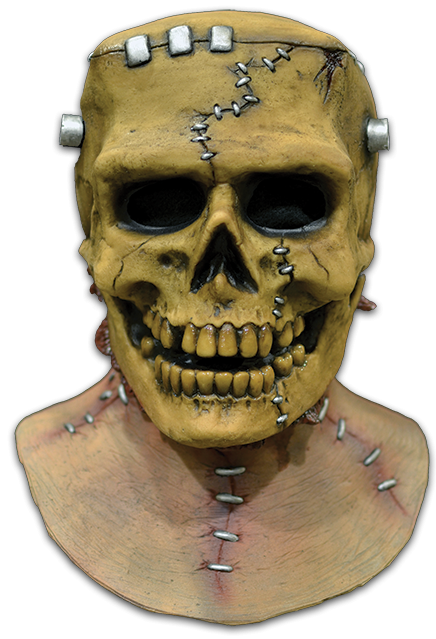 Trick or Treat Frankenskull Mask