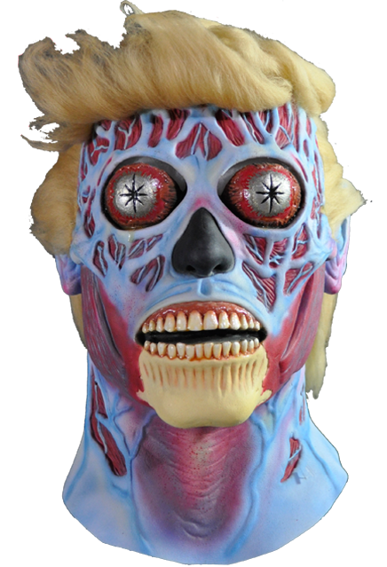 Trick or Treat They Live Donald Trump Mask