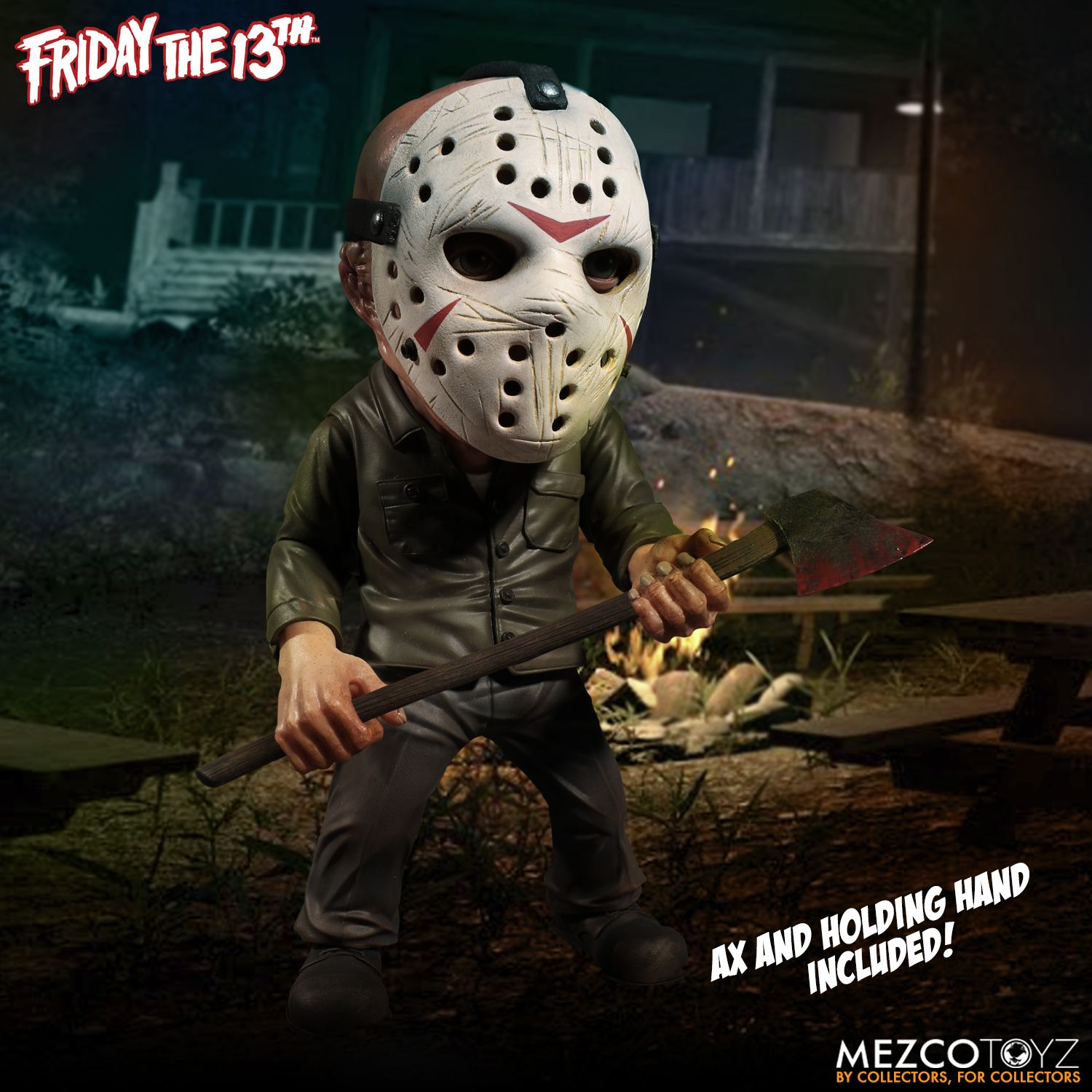 Mezco Stylized Friday the 13th Jason Voorhees Deluxe Figure