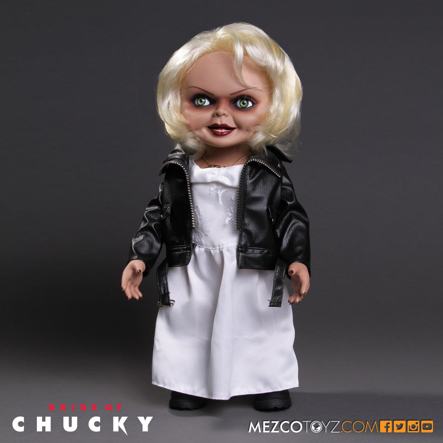 "Mezco Bride of Chucky Tiffany 15"" Talking Doll"