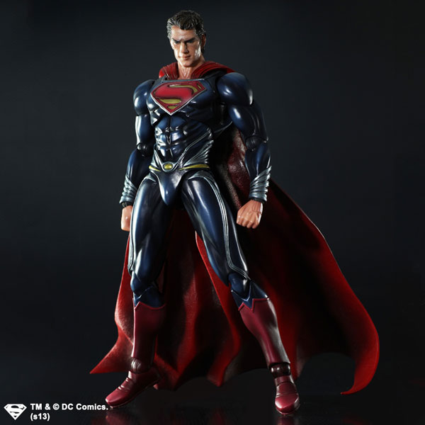 Square Enix Man of Steel Play Arts Superman Figure
