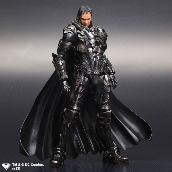 Square Enix Man of Steel Play Arts General Zod Figure