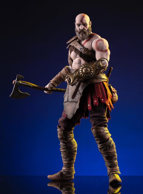 Pre-Order Mondo God of War Kratos Deluxe Sixth Scale Figure