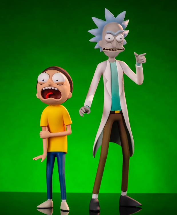 Pre-Order Mondo Rick and Morty Figures 2 Pack