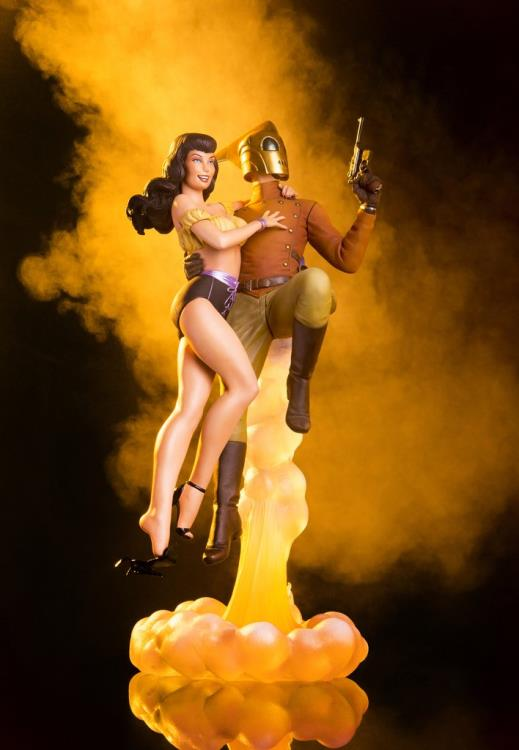 Pre-Order Mondo Rocketeer & Betty Statue