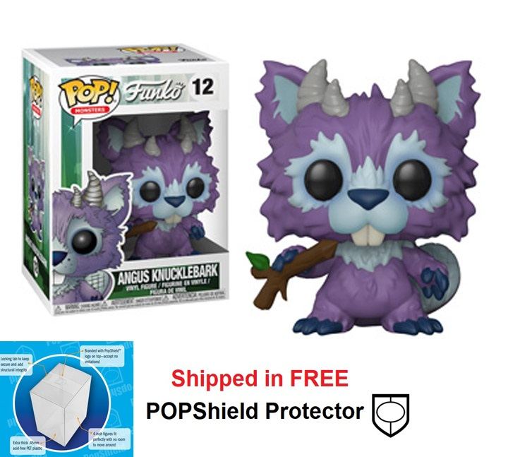 Funko POP Monsters Wetmore Forest Angus Knucklebark - #12