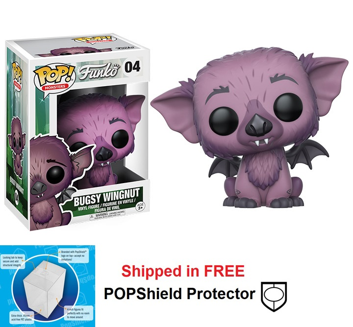 Funko POP Monsters Wetmore Forest Bugsy Wingnut - #04