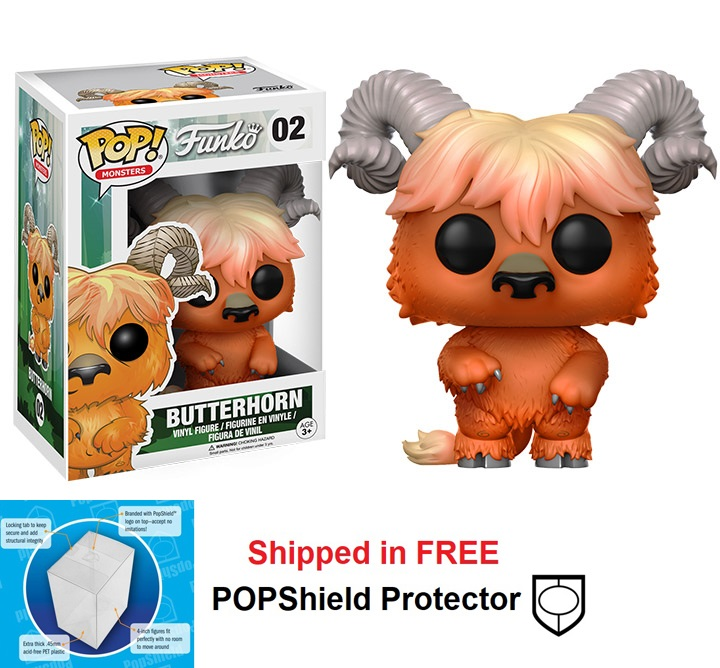 Funko POP Monsters Wetmore Forest Butterhorn - #02