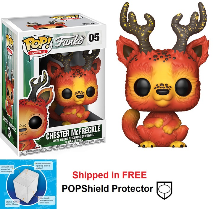 Funko POP Monsters Wetmore Forest Chester McFreckle - #05