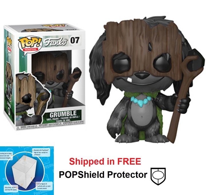 Funko POP Monsters Wetmore Forest Grumble - #07