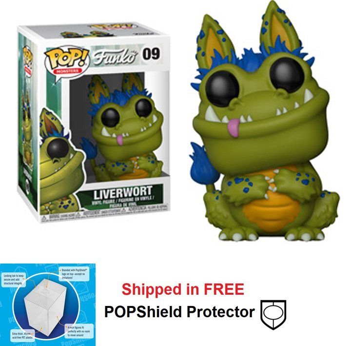 Funko POP Monsters Wetmore Forest Liverwort - #09