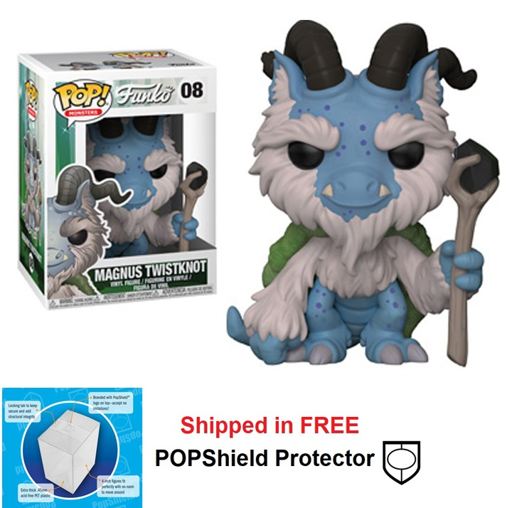 Funko POP Monsters Wetmore Forest Magnus Twistknot - #08