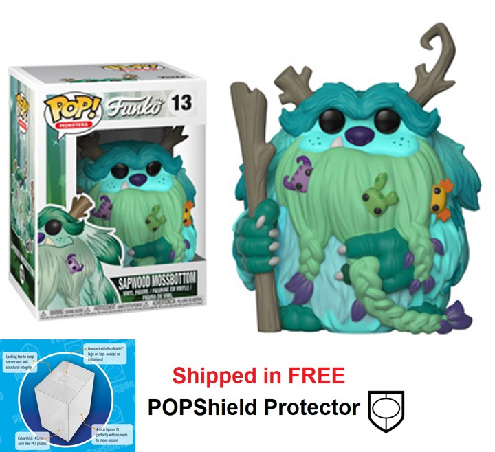 Funko POP Monsters Wetmore Forest Sapwood Mossbottom - #13