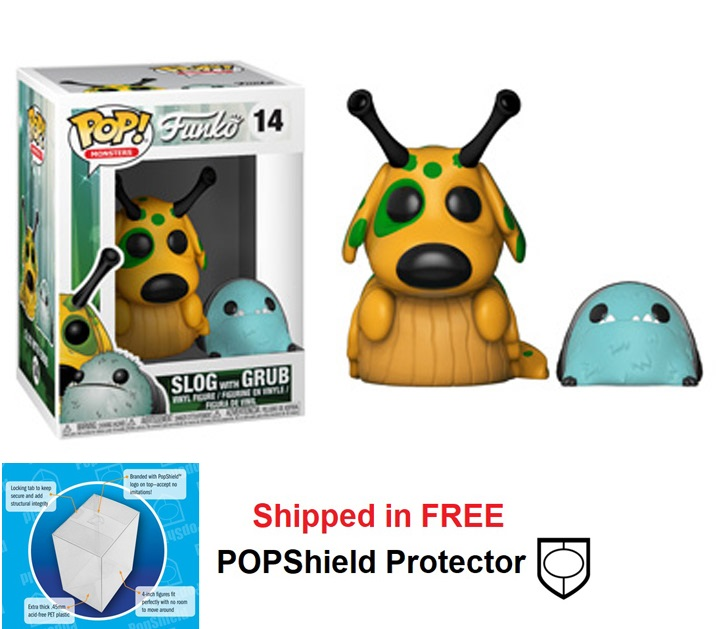 Funko POP Monsters Wetmore Forest Slog with Grub - #14