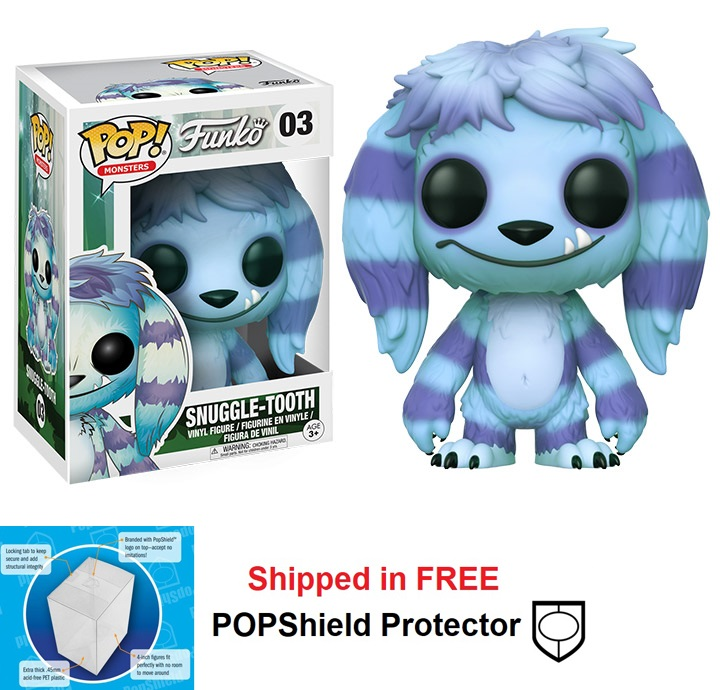 Funko POP Monsters Wetmore Forest Snuggle-Tooth - #03