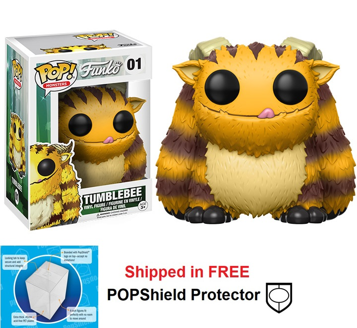 Funko POP Monsters Wetmore Forest Tumblebee - #01