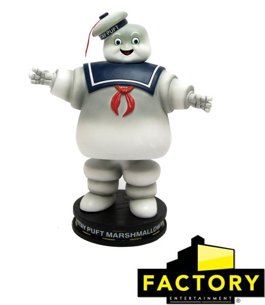 Ghostbusters Stay Puft Marshmallow Man Premium Motion Statue