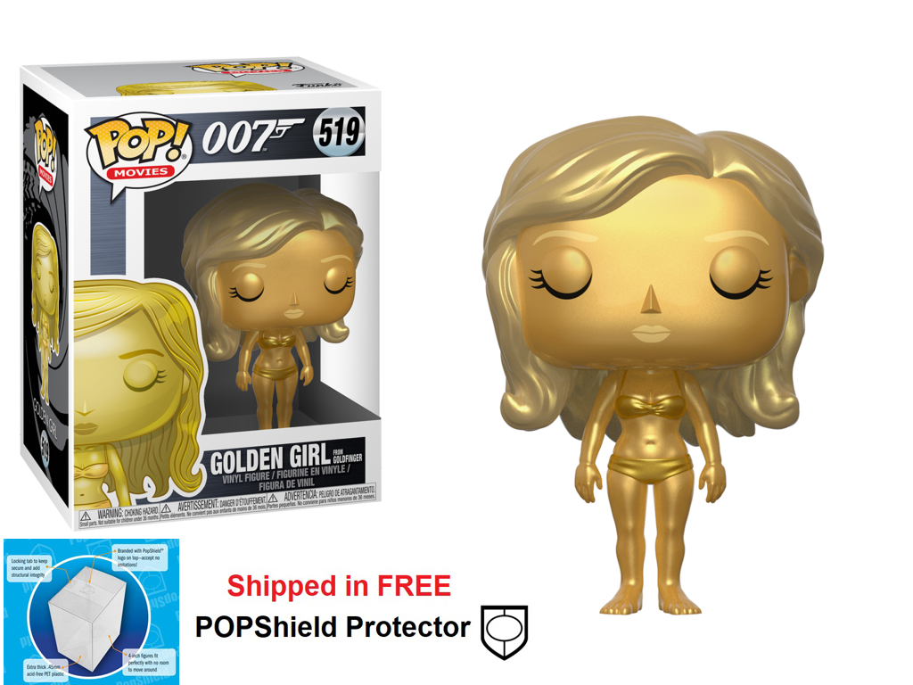 Funko POP Movie 007 James Bond Golden Girl Figure - #519