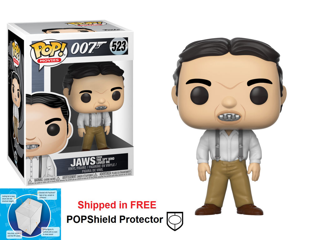 Funko POP Movie 007 James Bond Jaws Figure - #523