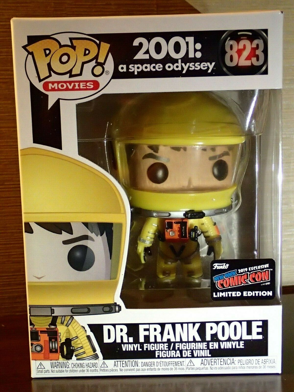 Funko POP Movies 2001 Space Odyssey Dr. Frank Poole #823: NYCC