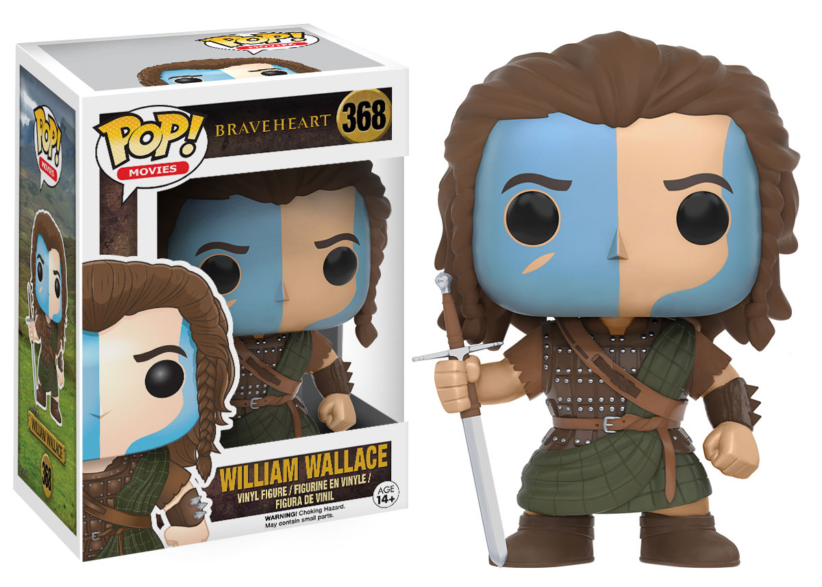 Funko POP Movie Braveheart William Wallace Figure - #368