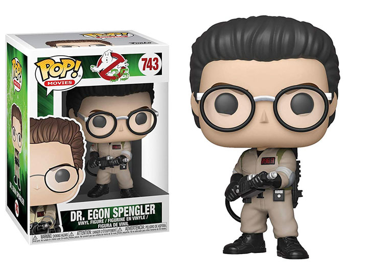 Funko POP Movie Ghostbusters Dr. Egon Spengler - #743