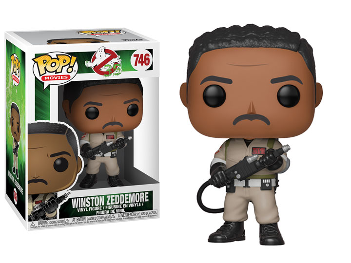 Funko POP Movie Ghostbusters Winston Zeddemore - #746