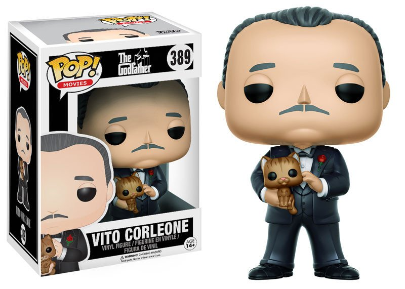 Funko POP Movie Godfather Vito Corleone Figure - #389