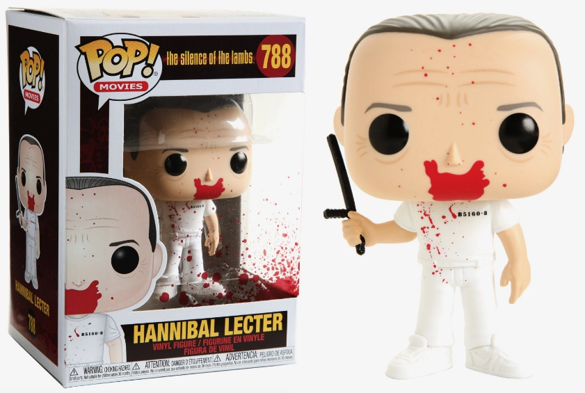 Funko POP Movie Hannibal Lecter Figure - #788
