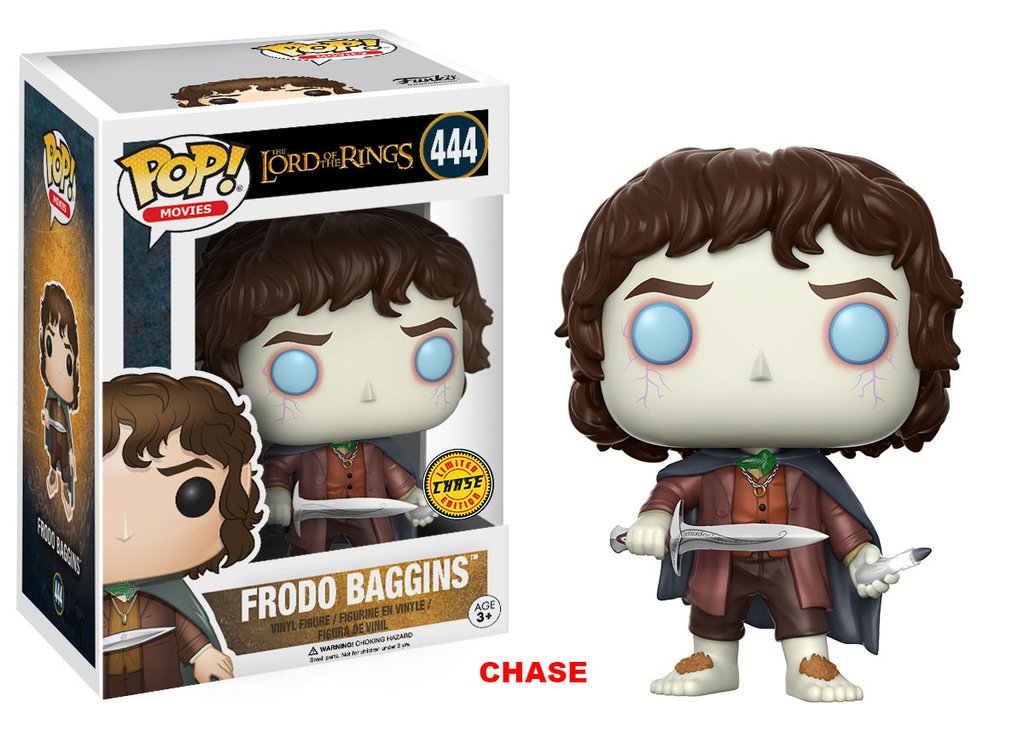 Funko POP Lord of the Rings Frodo Baggins Figure - #444 Chase