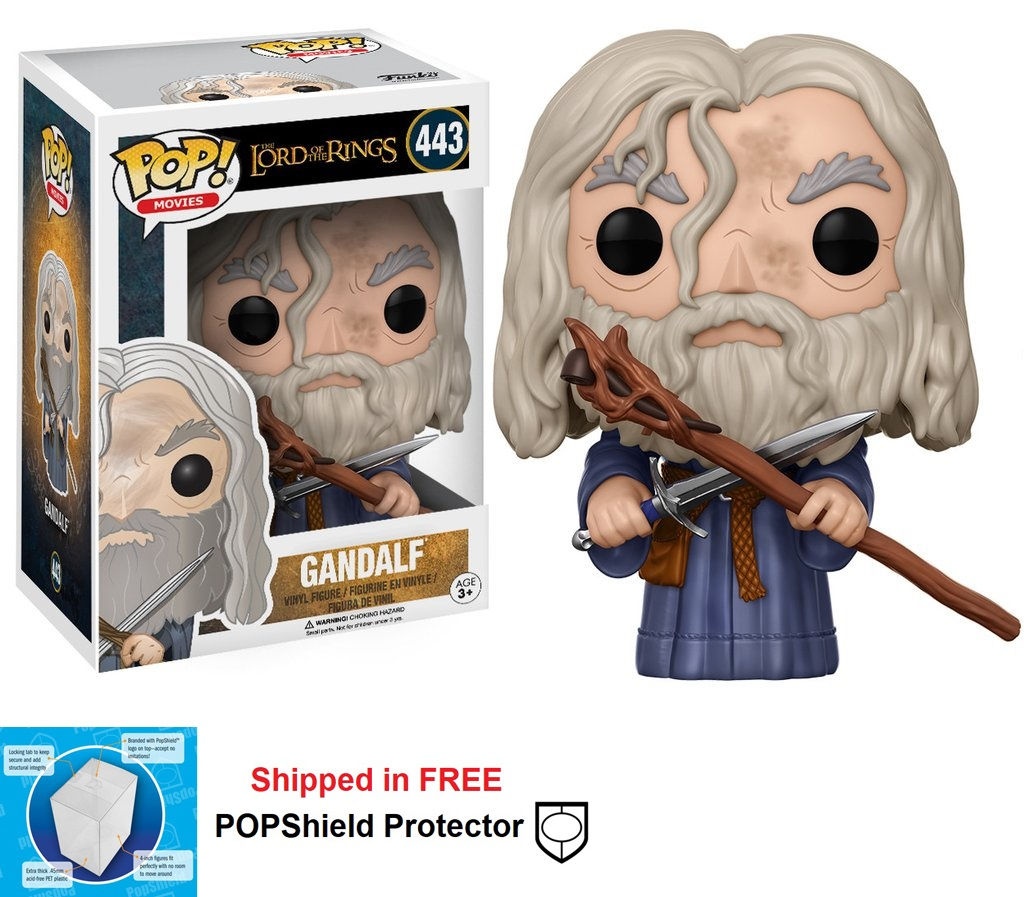 Funko POP Lord of the Rings Gandalf Figure - #443