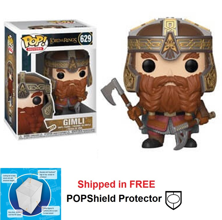 Funko POP Lord of the Rings Gimli Figure - #629