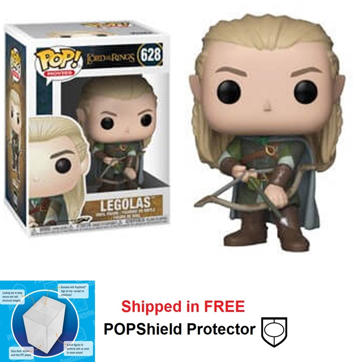 Funko POP Lord of the Rings Legolas Figure - #628