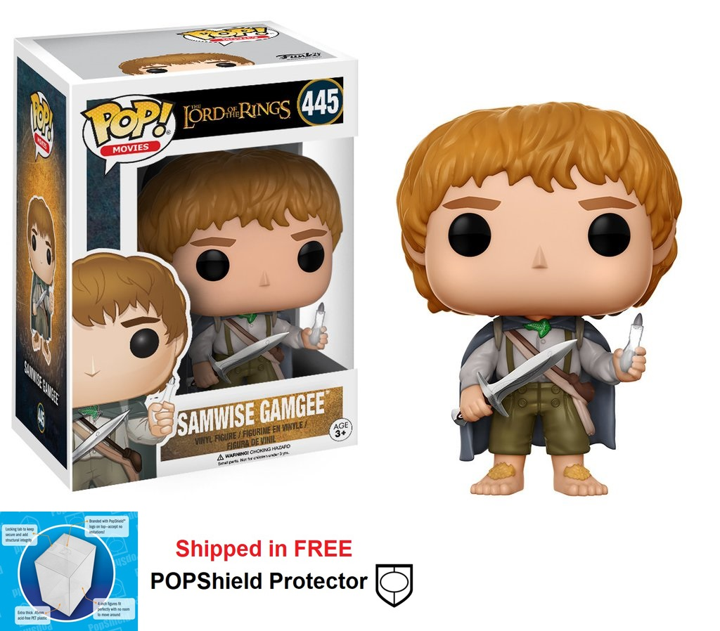 Funko POP Lord of the Rings Samwise Gamgee Figure - #445
