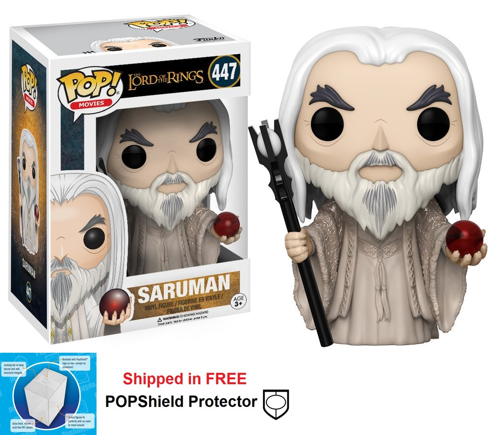 Funko POP Lord of the Rings Saruman Figure - #447
