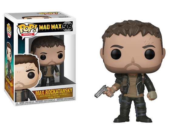 Funko POP Movie Mad Max Fury Road Max Rockatansky Figure - #509