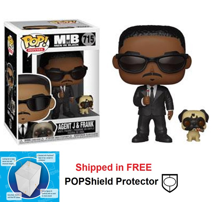 Funko POP Movies Men in Black Agent J & Frank - #715
