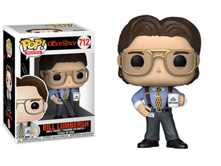 Funko POP Office Space Bill Lumbergh - #712