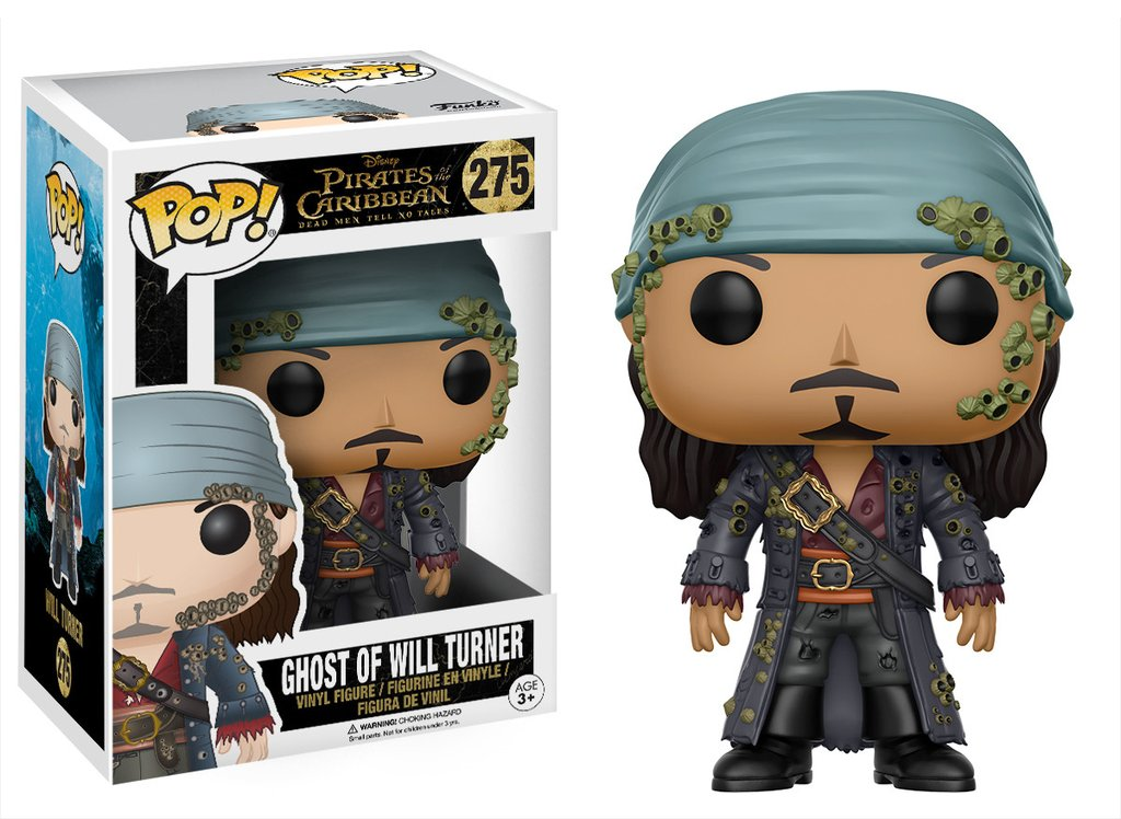 Funko POP Movie Pirates Dead Men Will Turner Figure - #275