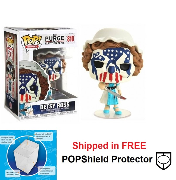 Funko POP Movies The Purge Betsy Ross Figure - #810